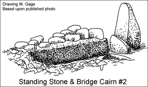 Gungywamp - Standing Stone and Cairn Bridge