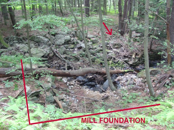 Northwood State Park NH - Mill Foundation