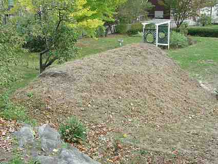 1843 Brick Arched Root Cellar Exterior New London CT